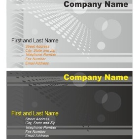 Business Card Collection - vector #206697 gratis