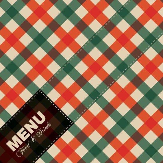 conception de menus - vector gratuit #206717