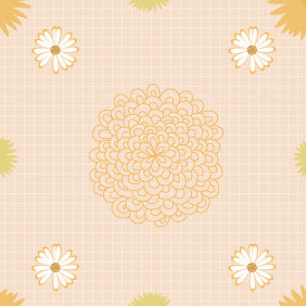 Seamless Pattern 75 - Free vector #206877