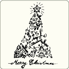 Christmas Illustration 2 - vector #207247 gratis