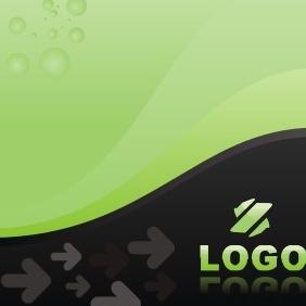 Green Company Logo - vector #207477 gratis