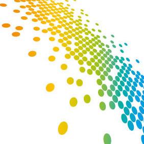 Abstract Vector Dots - Kostenloses vector #207507
