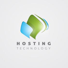 Hosting Logo 01 - Free vector #207667