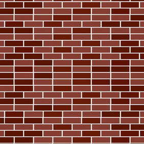 Vector Brick Wall Background - vector gratuit #207677