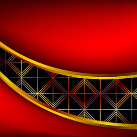Red Template Background - vector #207747 gratis