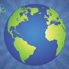 Glossy Globe - vector gratuit(e) #207757