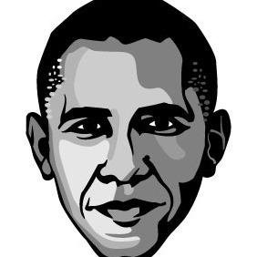 Barack Obama Vector - Free vector #207827