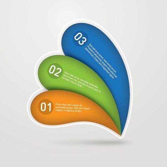 Numeradas de la infografía - vector #207867 gratis