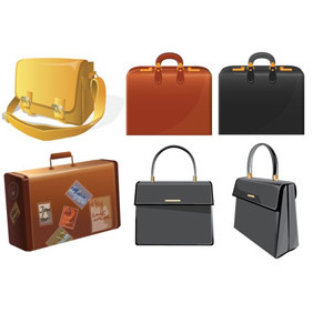 Bag Illustrations - vector gratuit #208087