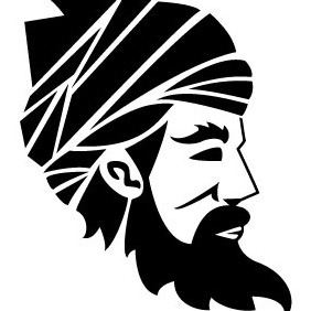 Arab Man Vector - Free vector #208147