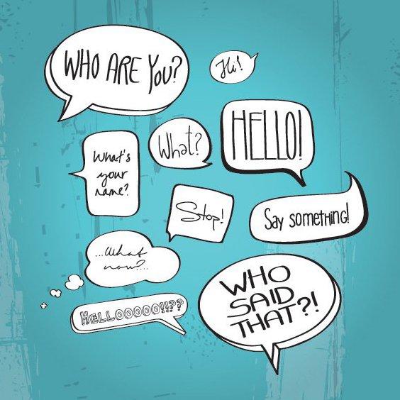 Комикс книга речи пузыри - бесплатный vector #208207