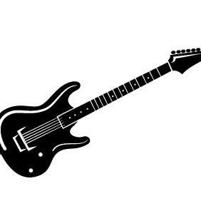 Guitar Vector - Free vector #208747