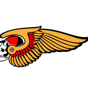 Hells Angels Vector Sign - Free vector #209037