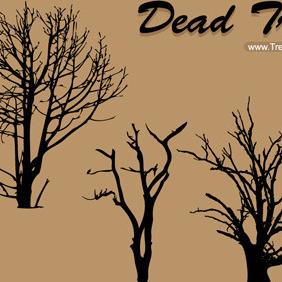 Dead Tree Vector -1 - vector #209137 gratis