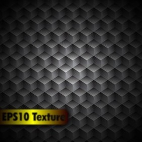 Cubic Metal Texture - Background - Free vector #209167