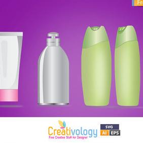 Free Vector Cosmetic - vector gratuit #209467