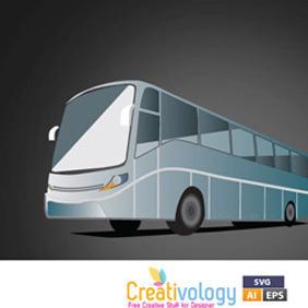 Free Vector Bus - vector gratuit #209477