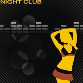 Night Club - vector gratuit #209507