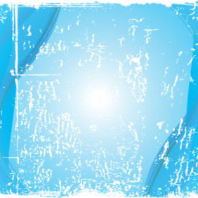 Grunge White In Blue Background Free Design - Free vector #209707