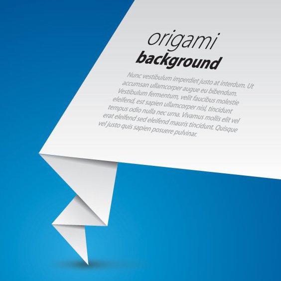fundo de origami - Free vector #209737