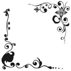 Floral Frames Set 2 - Free vector #209877