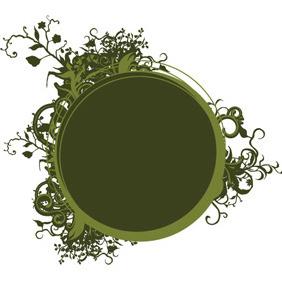 Vector Floral Frame 9 - Kostenloses vector #210057