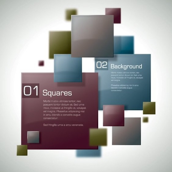Squares - Free vector #210107