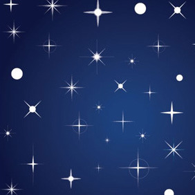 Blue Star Vector Background - Kostenloses vector #210377