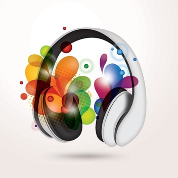 Colorful Music - Kostenloses vector #210657