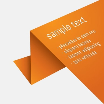Minimalist Flyer - vector #210887 gratis