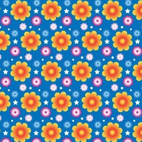 Vibrant Summer Seamless Vector Pattern - Free vector #210967