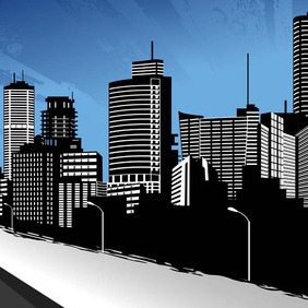 City 2. - vector #211157 gratis