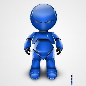 Vector Robot - Free vector #211167