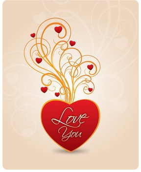 Love You - vector gratuit #211427