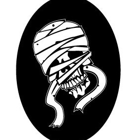 Mummy Skull Vector Image - Kostenloses vector #211597