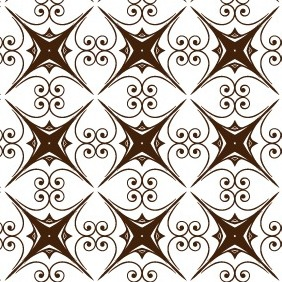 Abstract Decorative Seamless Vector Patterns - Free vector #211987