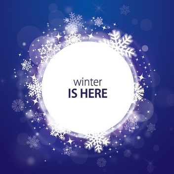 Winter Is Here - vector #212077 gratis