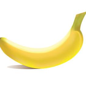 Free Banana Vector - Kostenloses vector #212087