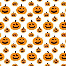 A Pumpkin Pattern - бесплатный vector #212627