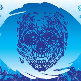 Cool Skull - Free vector #212847