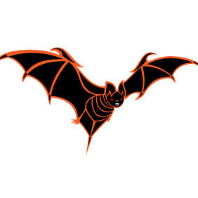 Bat Vector Image VP - vector gratuit #212887