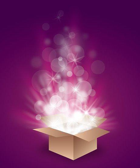 caja mágica - vector #213257 gratis