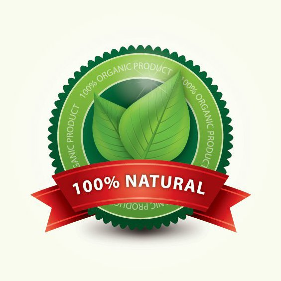 Organic Label - Free vector #213337