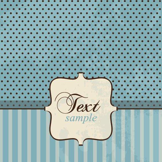 Vintage Card - Free vector #213447