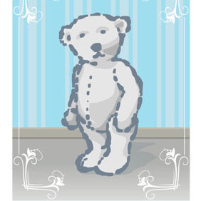 Teddy Bear - vector gratuit #213797