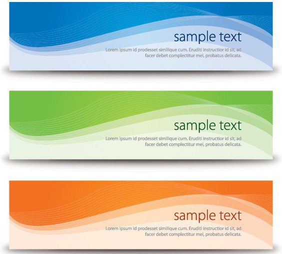 Vector Banners - Free vector #213817