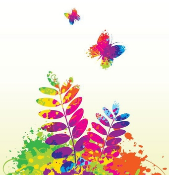 Colorful Spring - vector gratuit #214167