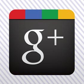Google Plus Vector Icon - Free vector #214277