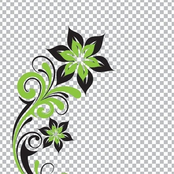 Transparent Flower - Kostenloses vector #214327