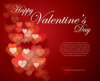 Valentines Flyer - Free vector #214507